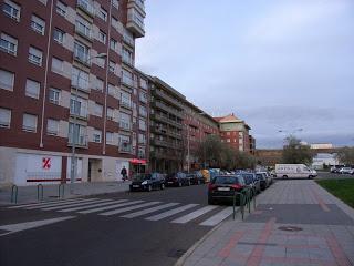 Calle Abad de Santullan en León