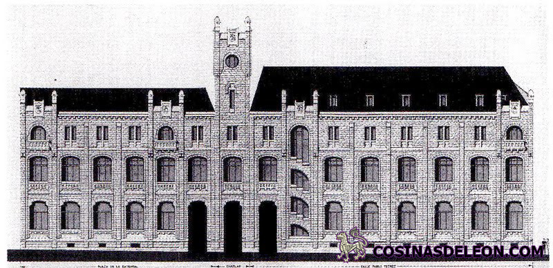 Edificio de correos y tel grafos cosinas de leon for Oficina de empleo leon