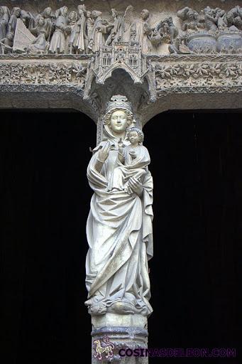 La Virgen Blanca - Catedral de León