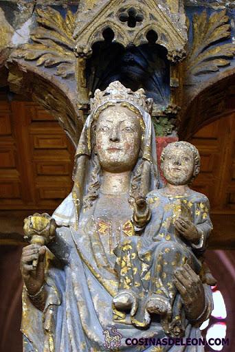 La Virgen de los Dados - detalle