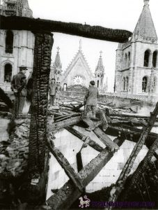 Incendio Catedral de Leon (1)