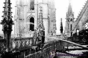 Incendio Catedral de Leon (12)