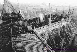 Incendio Catedral de Leon (16)