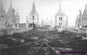 Incendio Catedral de Leon (3)