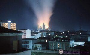 ncendio Catedral de Leon