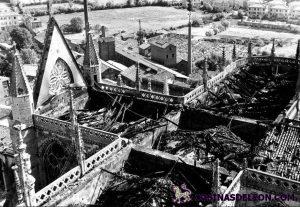 Incendio Catedral de Leon (6)