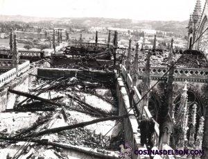 Incendio Catedral de Leon (7)