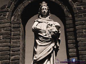 Virgen blanca Santa Marina