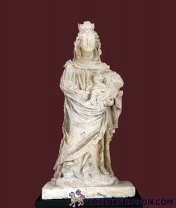 Virgen blanca de Santa Marina