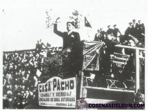 Plaza de toros del Petardo - mitin Durruti