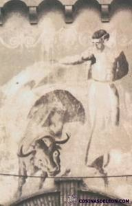 Plaza toros mural