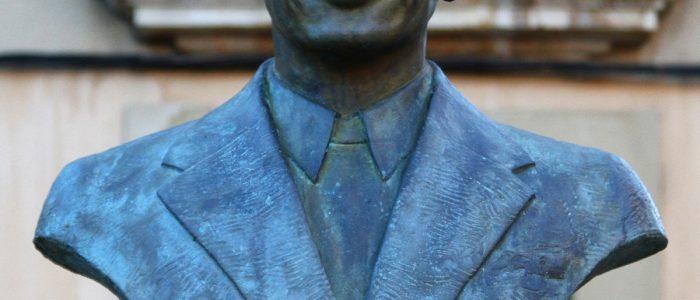 Busto Felipe Magadaleno detalle
