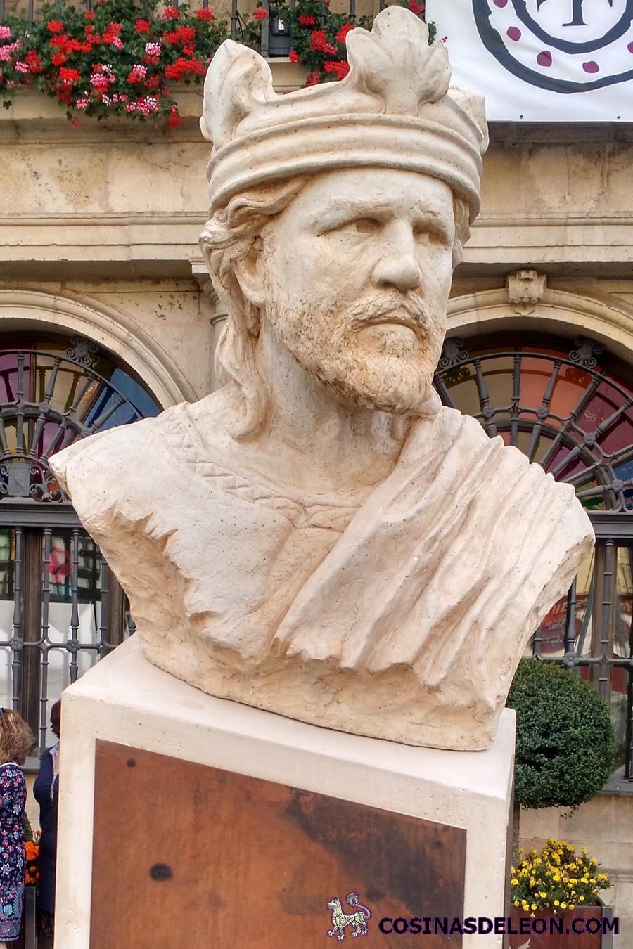 escultura Alfonso V